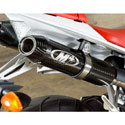 09-14 Yamaha R1 M4 Dual Cat Eliminator Slip-On w/Carbon Mufflers