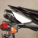 09-17 Honda CBR 600RR M4 Slip-On Undertail Carbon Exhaust