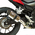 17-18 Honda CBR 500R M4 Standard Slip-On Exhaust Polished