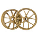 Ducati 1199 Marchesini M10RS Forged Magnesium Wheel Set Gold