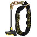 "OnGuard 4'6"" 12mm Beast Series Loop Chain And 'T' Lock"