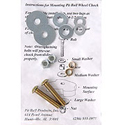Pitbull Wheel Chock Additional Mounting Hardware