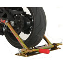 Pitbull Rear Wheel Trailer Restraint System