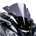 11-15 Kawasaki ZX10R Puig Z-Racing Double Bubble Windscreens