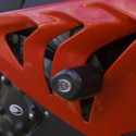 12-14 BMW S1000RR R&G No Cut Frame Sliders (Aero Style)