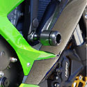 13-16 Kawasaki ZX6R Sato Racing Delrin Engine Sliders