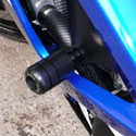 Sato Racing No-Cut Frame Sliders - 07-08 Suzuki GSX-R1000