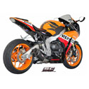 08-13 Honda CBR1000RR SC-Project Matt Carbon Oval Silencer