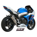 09-11 Suzuki GSXR 1000 SC-Project Oval Line Single Silencer