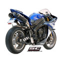 09-14 YZF-R1 SC-Project Dual Oval Line Silencers
