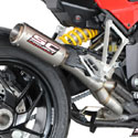 10-14 Multistrada 1200 SC-Project De-Cat CR-T Silencer