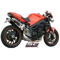 07-10 Speed Triple 1050 SC-Project Dual GP Silencers
