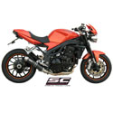 07-10 Speed Triple 1050 SC-Project Low Position GP-EVO Silencer