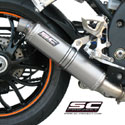 07-10 Speed Triple 1050 SC-Project Low Position GP Silencer