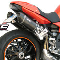 07-10 Speed Triple 1050 SC-Project Dual Oval Silencers