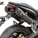 07-12 Street Triple 675/R SC-Project Dual GP-Tech Silencers
