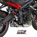 13-16 Street Triple 675/R/RX SC-Project CR-T Silencer
