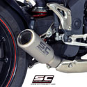 11-15 Speed Triple 1050 SC-Project CR-T Silencer w/Ti Link Pipe
