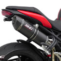 11-15 Speed Triple 1050 SC-Project High Position Oval Silencer