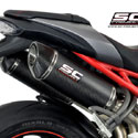 16-17 Speed Triple 1050 S/R SC-Project Dual Oval Silencers