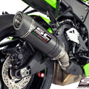 16-17 Kawasaki ZX10R SC-Project Oval Silencer for Stock Cat