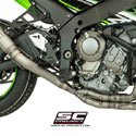16-17 Kawasaki ZX10R SC-Project S1 4-2-1 Full Titanium Exhaust