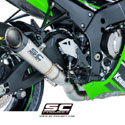 16-17 Kawasaki ZX10R SC-Project High Position S1 Silencer