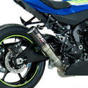 2017 Suzuki GSXR 1000 SC-Project CR-T Slip-On Carbon Fiber