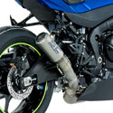 2017 Suzuki GSXR 1000 SC-Project CR-T Slip-On Titanium