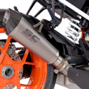 17-18 KTM 1290 Super Duke R SC-Project Conic Silencer