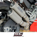 Ducati Panigale 959 SC-Project CR-T Twin Silencers