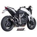 08-17 Honda CB1000R SC-Project GP-EVO Silencer w/Carbon Covers