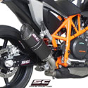 12-15 KTM 690 Duke SC-Project Oval Silencer