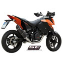 08-11 KTM 690 Duke/R SC-Project Oval Full System Exhaust