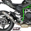 Kawasaki Ninja H2 SC-Project GP70-R Silencer
