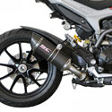 Ducati Hyperstrada SC-Project Low Position Oval Slip-On