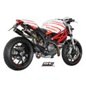 Ducati Monster 796 SC-Project Dual CR-T Silencers