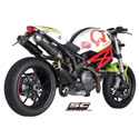 Ducati Monster 796 SC-Project Dual GP-EVO Silencers