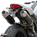 Ducati Monster 796 SC-Project Dual Racer Silencers