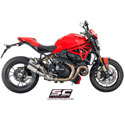 Ducati Monster 1200R SC-Project CR-T Twin Silencers