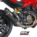 Ducati Monster 1200/S SC-Project Matt Carbon Oval Silencer