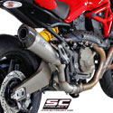 Ducati Monster 821 SC-Project Conic Silencer