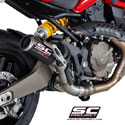 Ducati Monster 821 SC-Project CR-T Silencer