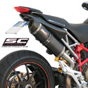 Ducati Hypermotard 1100/S SC-Project Oval Silencer