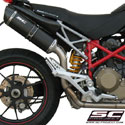 Ducati Hypermotard 1100/S SC-Project Oval 2-1 Full System