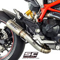 Ducati Hypermotard 939/SP SC-Project CR-T Silencer w/Link pipe