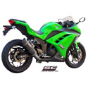 13-16 Kawasaki Ninja 300 SC-Project Oval 2-1 Full System
