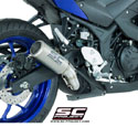 15-17 Yamaha YZF-R3 SC-Project CR-T Silencer
