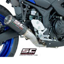 15-17 Yamaha YZF-R3 SC-Project CR-T Full System Exhaust