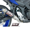 15-17 Yamaha YZF-R3 SC-Project GP M2 Full System Exhaust